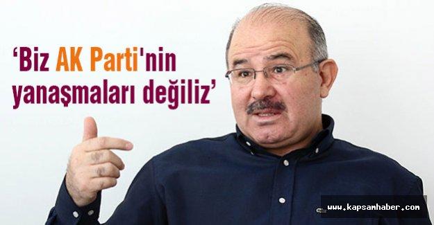 Çelik: 'Biz AK Parti'nin yanaşmaları değiliz'