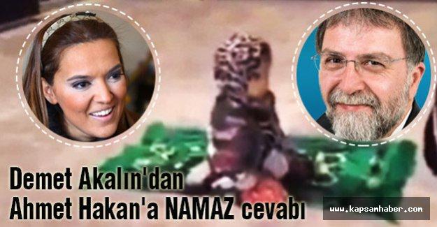 Demet Akalın'dan Ahmet Hakan'a okkalı cevap