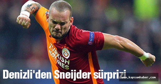 Denizli'den Sneijder sürprizi