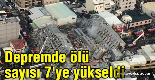 Depremde ölü sayısı 7'ye yükseldi