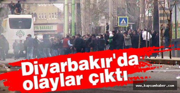 Diyarbakır'da olay!! Polis Müdhale Etti...