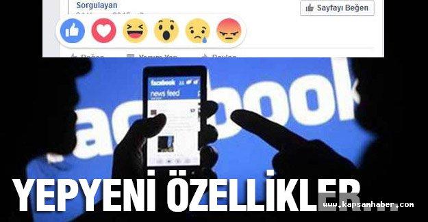 Facebook'tan yeni surprizler