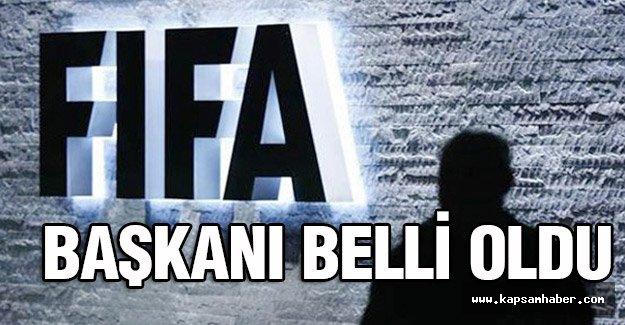 FIFA'nın başkanı belli oldu