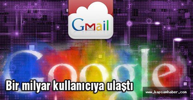 Gmail, bir milyar kişiye ulaşıyor