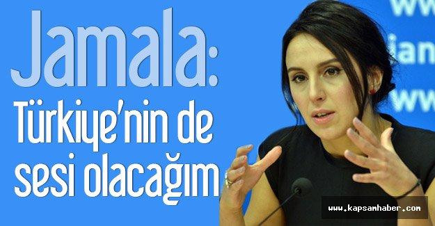Jamala: Türkiye'nin de sesi olacağım