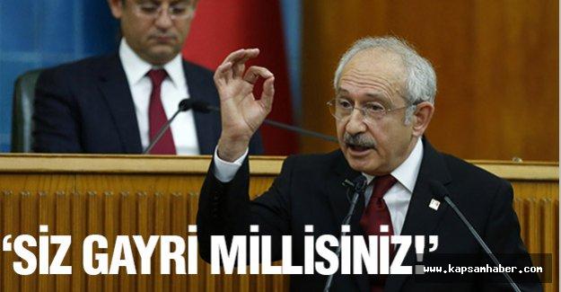 Kılıçdaroğlu; Ak Parti'yi Sert Sözlerle Eleştirdi