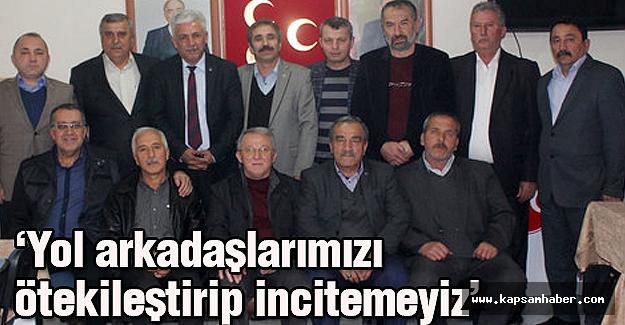 MHP Çankırı İl Teşkilatı: Yol arkadaşlarımızı incitemeyiz