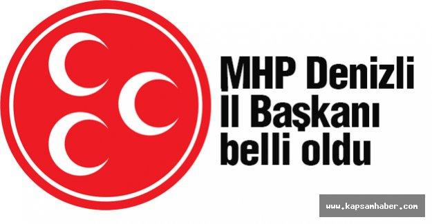 MHP Denizli İl Başkanı Belli Oldu