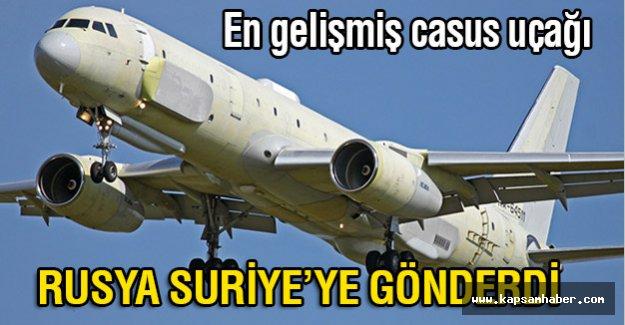 Rusya'nın Casus Uçağı Suriye'de
