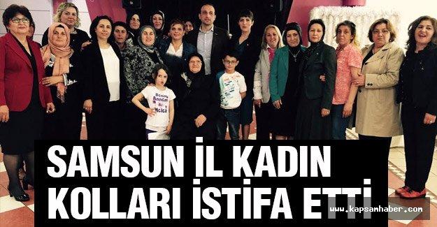 MHP Samsun İl Kadın Kolları İstifa Etti