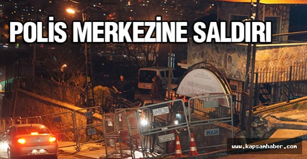 Sarıyer'de Polis merkezine saldırı...