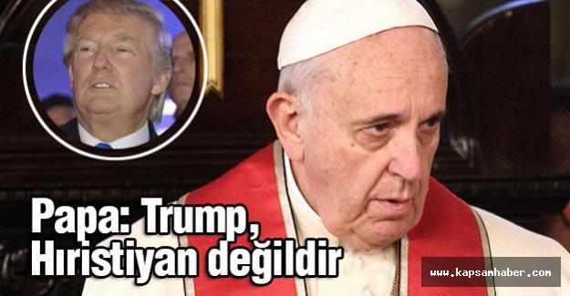 Trump, Hıristiyan değildir