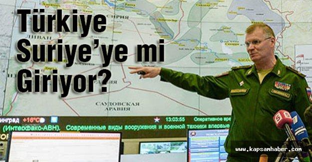 Türkiye Suriye'ye mi Giriyor?