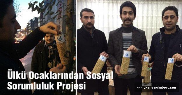 Ülkü Ocaklarından Sosyal Sorumluluk Projesi