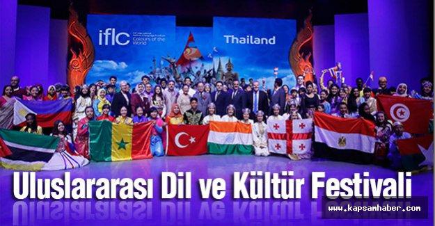 Uluslararası Dil ve Kültür Festivali coşkusu