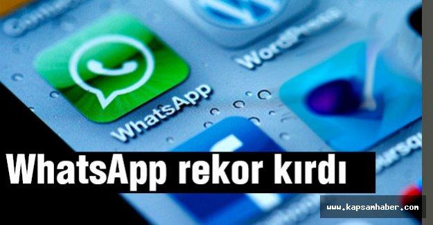 WhatsApp Rekor Kırdı...