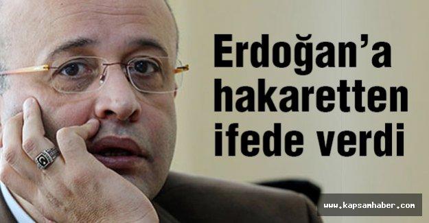 Yeniçağ'dan Ahmet Takan, Erdoğan'a 'hakaret'ten ifade verdi