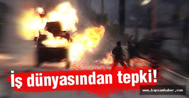 Ankara'daki Bombalı Saldırıya İş Dünyasından Tepki