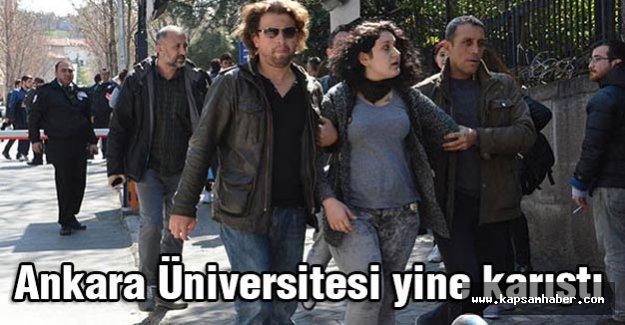Ankara Üniversitesi yine karıştı