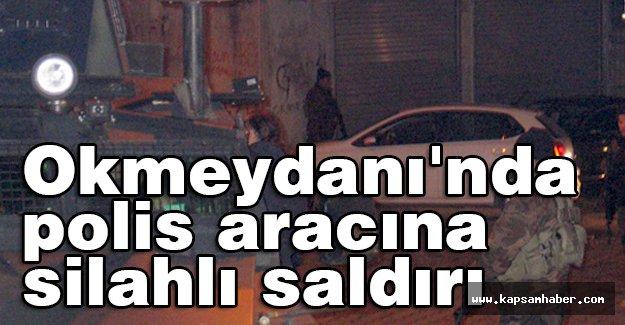 Beyoğlu'nda, polis aracına silahlı saldırı