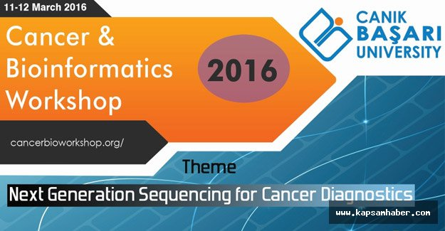 Canik Başarı'da Kanser ve Biyoinformatik Çalıştayı