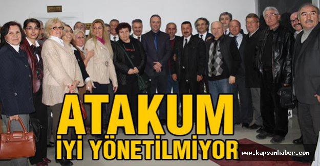CHP'li Akçagöz; Atakum İyi Yönetilmiyor!