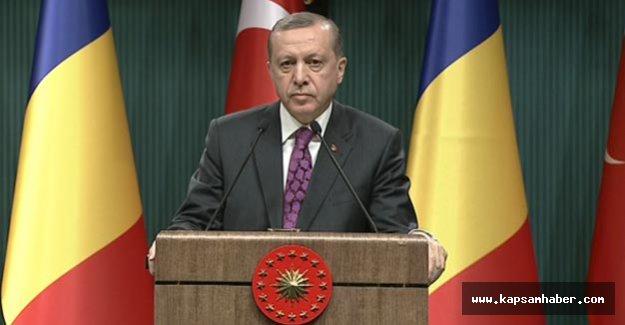 Erdoğan'dan Brüksel açıklaması