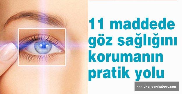 Göz Sağlığınızı Korumanın En Pratik Yolları