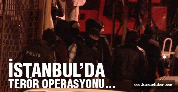 İstanbul'da Eş Zamanlı  Operasyon