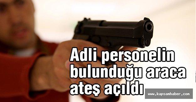 İstanbul Tekstilkent'te Adli personel Aracına Silahlı Saldırı