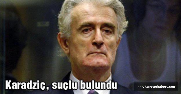 Karadziç, suçlu bulundu