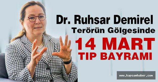MHP'li Demirel: Terörün Gölgesinde 14 Mart Tıp Bayramı