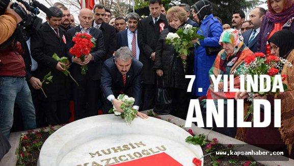 Muhsin Yazıcıoğlu Vefatının 7. Yılında Anıldı