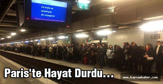 Paris'te Hayat Durdu...