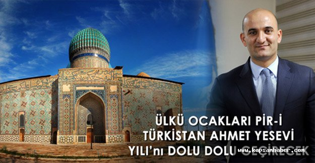 PİR-İ TÜRKİSTAN AHMET YESEVİ YILI...