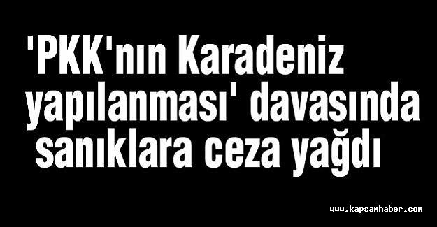 PKK'nın 'Karadeniz yapılanması' davası