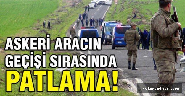 Siverek'te Askeri Araca Tuzak