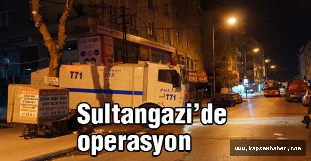 Sultangazi'de operasyon