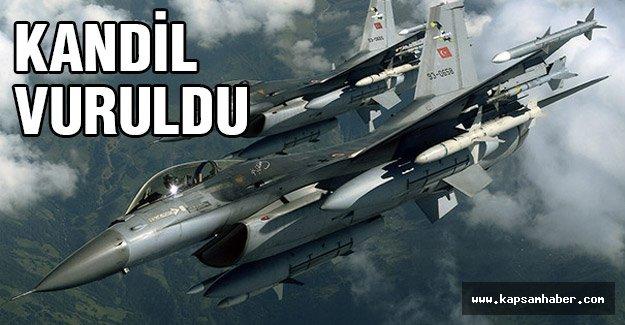 TSK, Kandil'i vurdu!