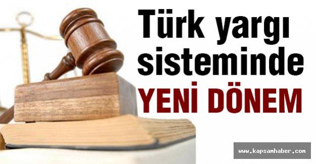 Türk Yargı Sisteminde Yeni Dönem