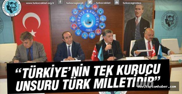Türkiye'nin Tek Kurucu Unsuru Türk Milletidir