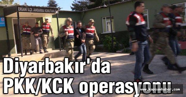 Diyarbakır'da PKK-KCK operasyonu