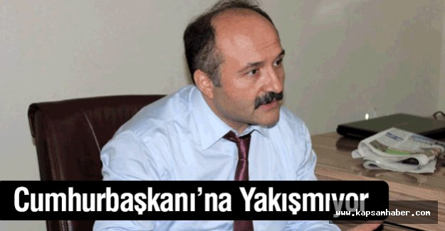 Erhan Usta; Bu Söz Cumhurbaşkanı'na Yakışmıyor..