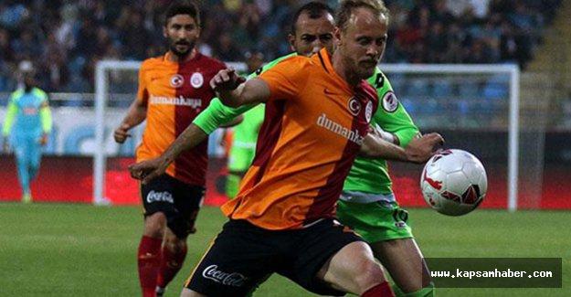 Galatasaray, Rize'den büyük avantajla dönüyor