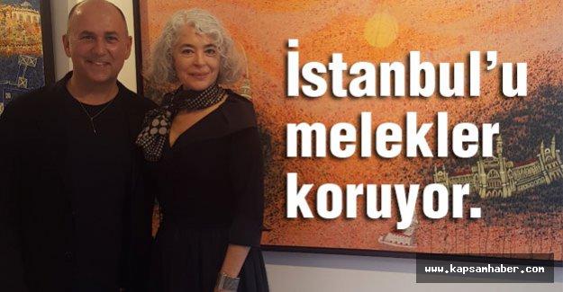 İstanbul'u melekler koruyor.