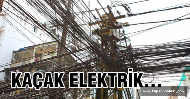 Kaçak elektrik dünyanın sorunu