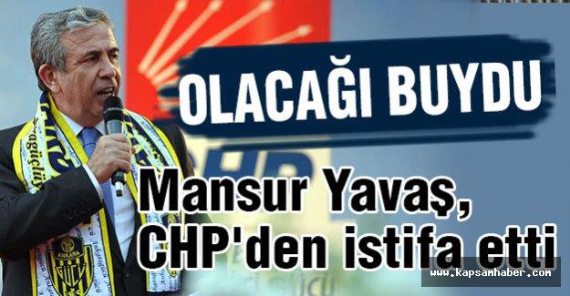 Mansur Yavaş, CHP'den Neden İstifa Etti?