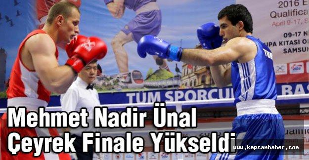 Mehmet Nadir Ünal Çeyrek Finale Yükseldi