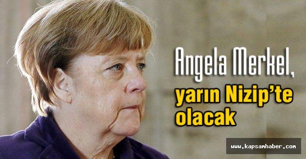 Merkel, yarın Nizip'te olacak