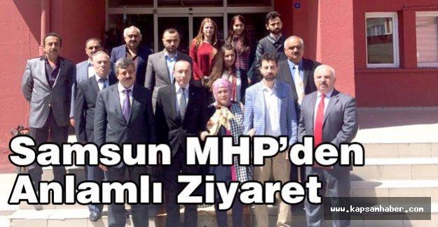 MHP'den anlamlı ziyaret